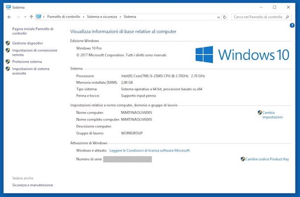 Come sapere se windows 10 attivato salvatore aranzulla for La licenza di windows sta per scadere