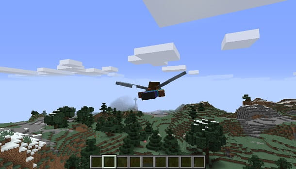volare minecraft con elitre