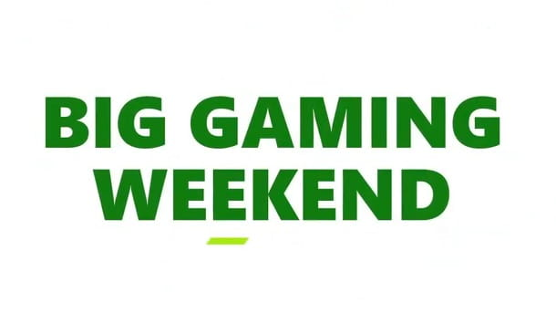 Xbox Live Gold Gratis Big Gaming Weekend