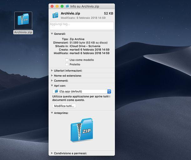 Programmi predefiniti Mac