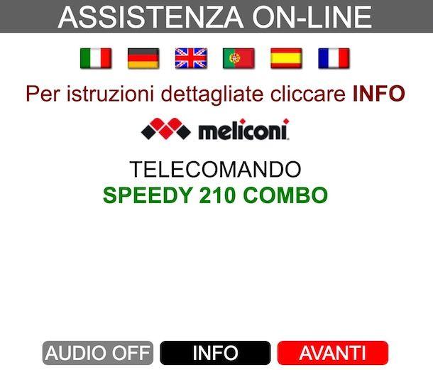 Come programmare telecomando Meliconi