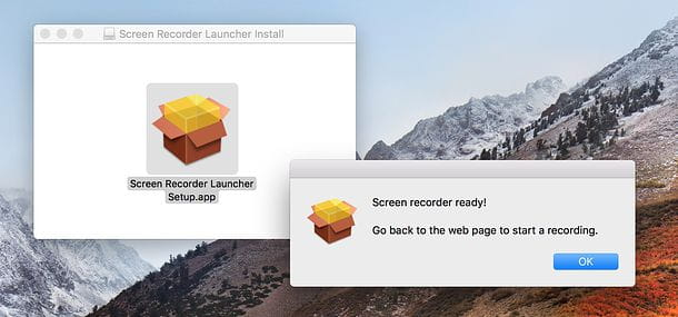 Screencast-o-matic launcher