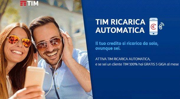 Come disattivare ricarica automatica TIM