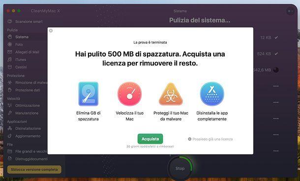 Prezzi CleanMyMac X