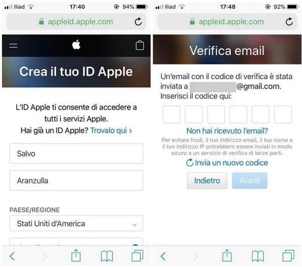 Come cambiare App Store