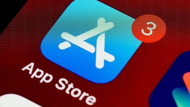 Cambio App Store rosso attenzione