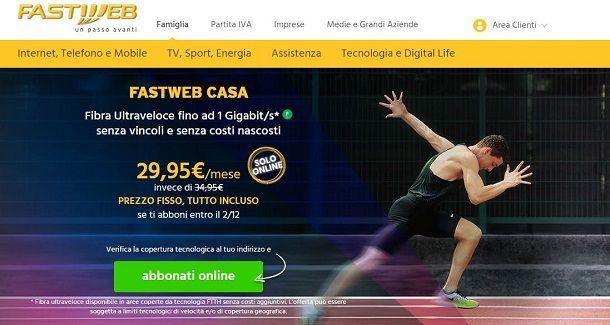 Fastweb Casa