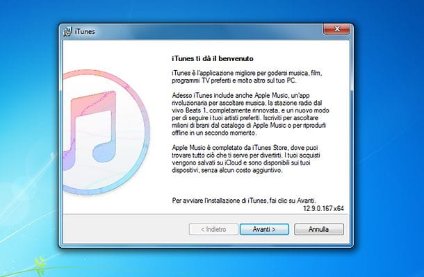 Come reinstallare iTunes