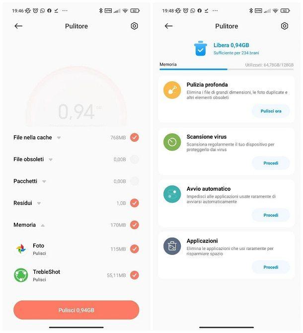Come pulire il telefono da file inutili: Android