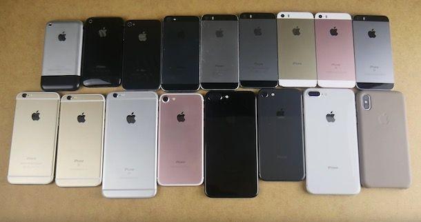 Come vedere modello iPhone