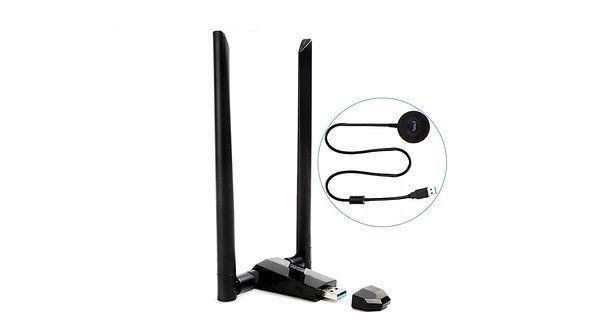 Adattatore USB Wi-FiANEWISH da 1750Mbps