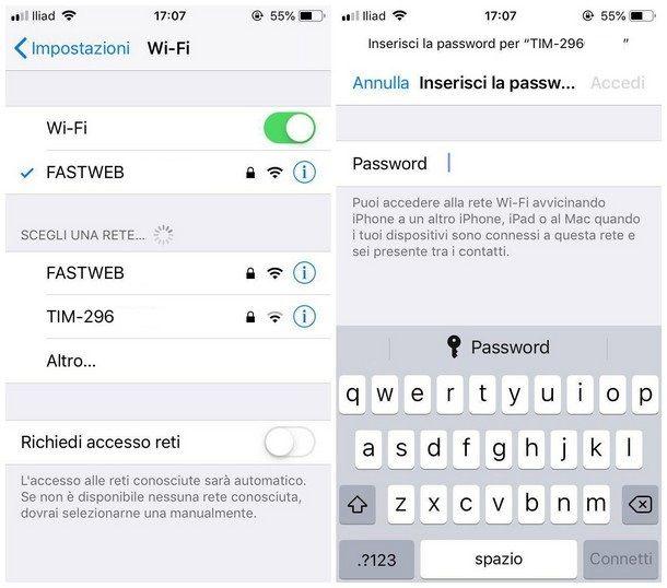 Come Condividere Password Wifi Iphone Salvatore Aranzulla