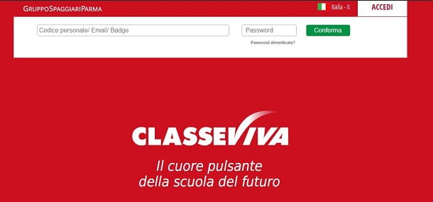 ClasseViva sito web