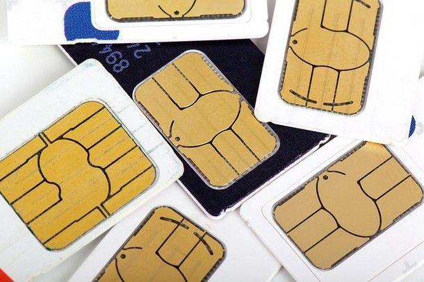 Come bloccare una SIM