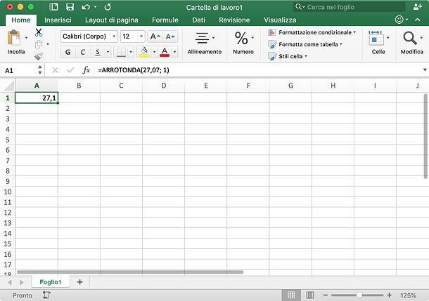Come Arrotondare In Excel Salvatore Aranzulla