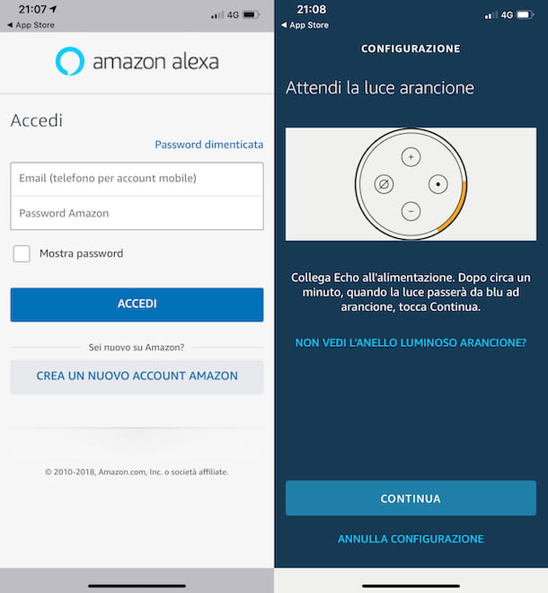 App Amazon Alexa