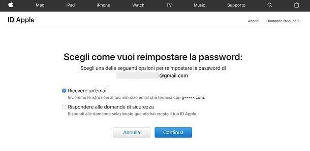 Come uscire da iCloud senza password