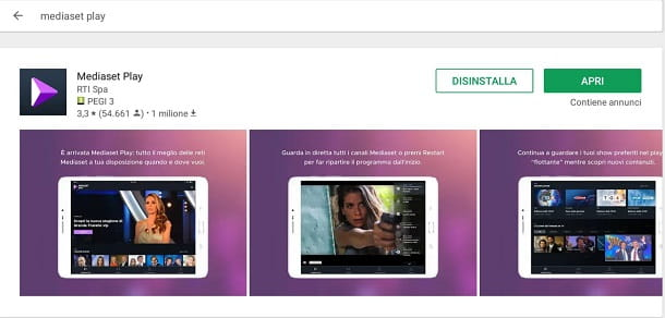 mediaset-play android