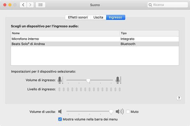 Come sentire il microfono nelle casse del Mac