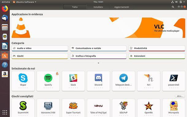 Come disinstallare un programma da Ubuntu Software