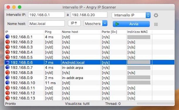Come trovare il MAC Address di un altro cellulare