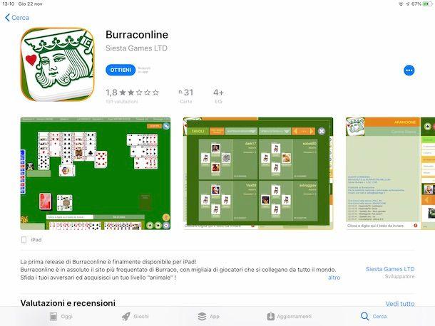 SCARICA IL BURRACO ONLINE