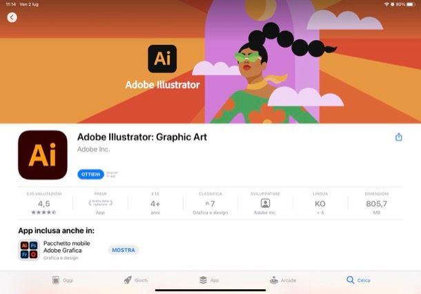 Illustrator per iPad