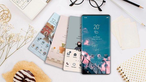 Temi Galaxy Smartphone