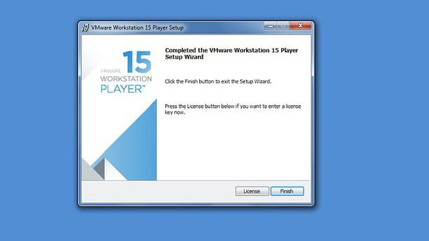 Installazione VMware Workstation Player