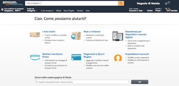 Come regalare un buono Amazon