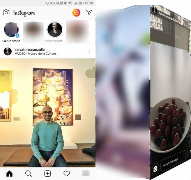 Anteprima storia App Instagram