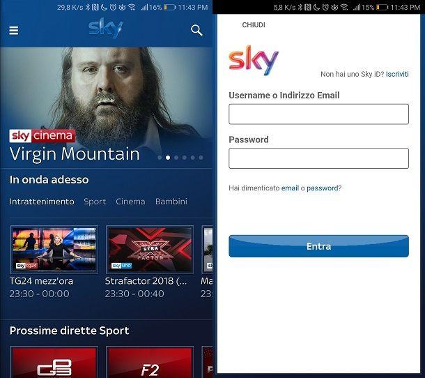 Sky Go App