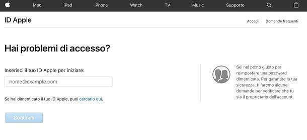 Come uscire da iCloud senza sapere la password