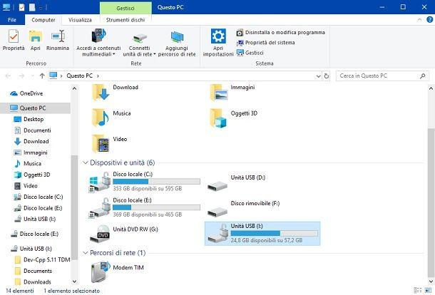 Windows Unità USB