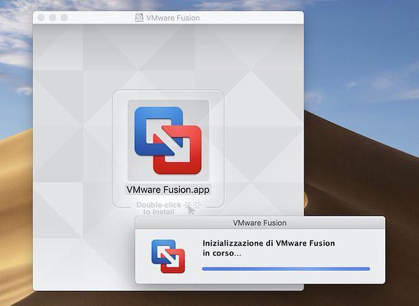 Installazione VMware Fusion