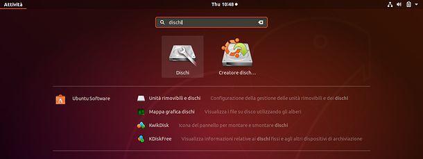 Ricerca Ubuntu