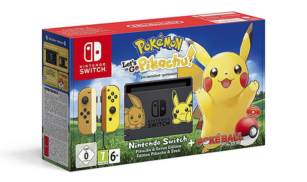 Nintendo Switch Pikachu & Eevee Edition