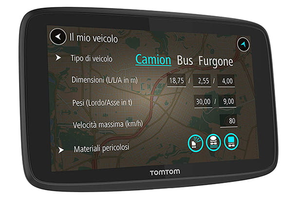 TomTom Truck Go Professional 520