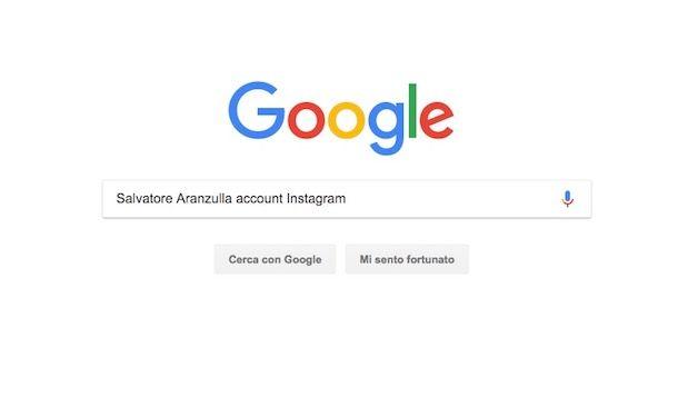 Come trovare una ragazza su Instagram sapendo il nome