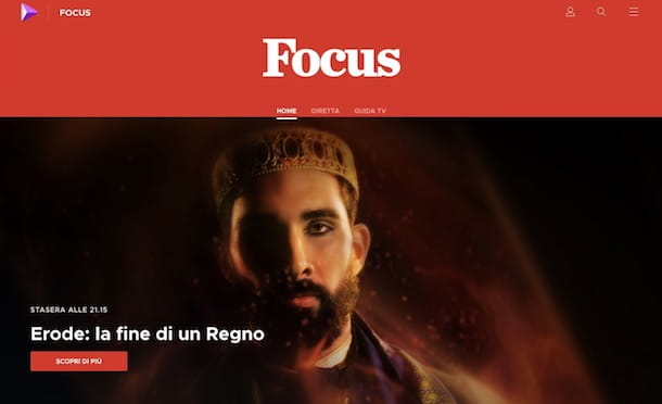 Come rivedere i programmi di Focus