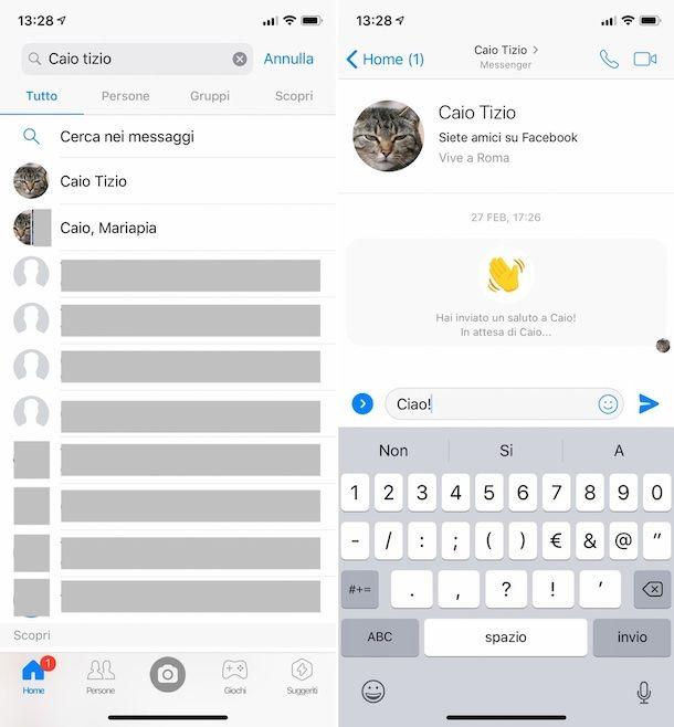 Come vedere i messaggi archiviati su Facebook dal cellulare