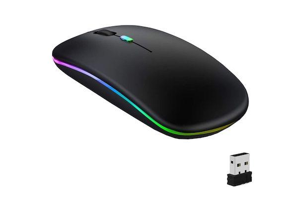 GeekerChip Mouse Wireless Silenzioso