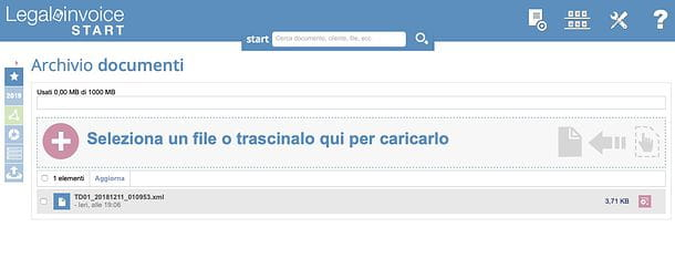 Archivio Legalinvoice