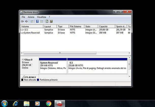 Come partizionare hard disk Windows 7