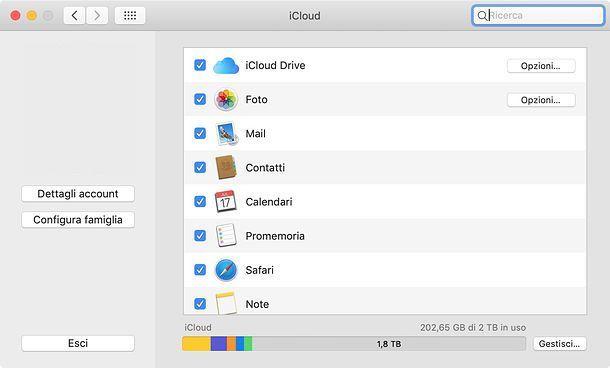 Come salvare contatti iPhone su Mac