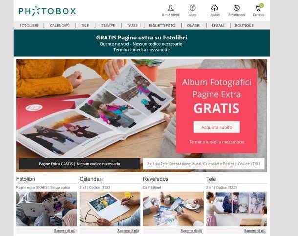 039102c634 Uno dei siti Internet più utilizzati per stampare fotolibri è PhotoBox: in  esso, puoi trovare svariati servizi per la stampa digitale e numerosi  modelli per ...