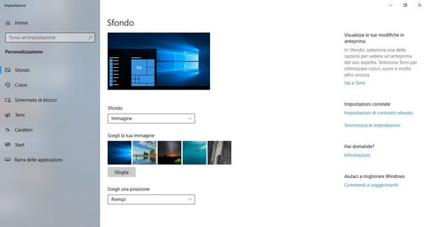 Come Personalizzare Windows 10 Salvatore Aranzulla