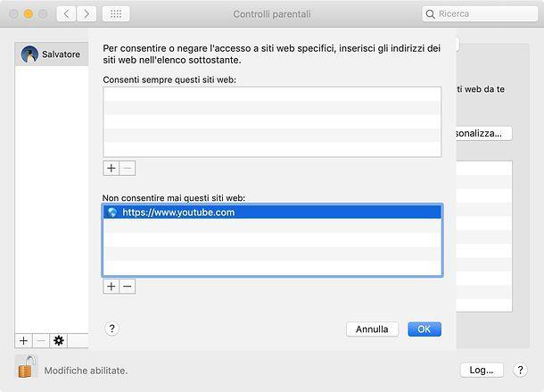 Cómo bloquear un sitio en Mac