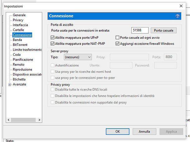 Porta uTorrent
