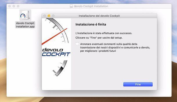 Installazione devolo Cockpit Mac